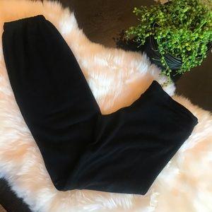 Wildfox Essential Malibu Sweatpants Black Medium